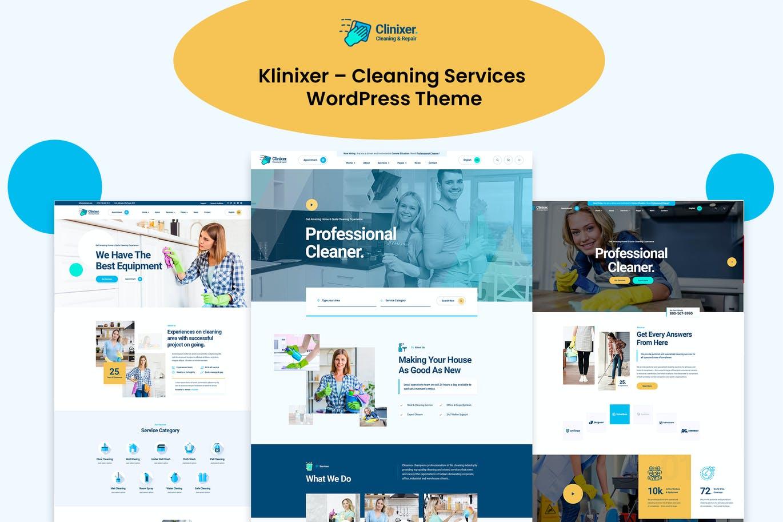 WordPress Temizlik Teması