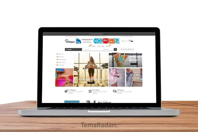 WordPress Ücretsiz E-Ticaret Teması